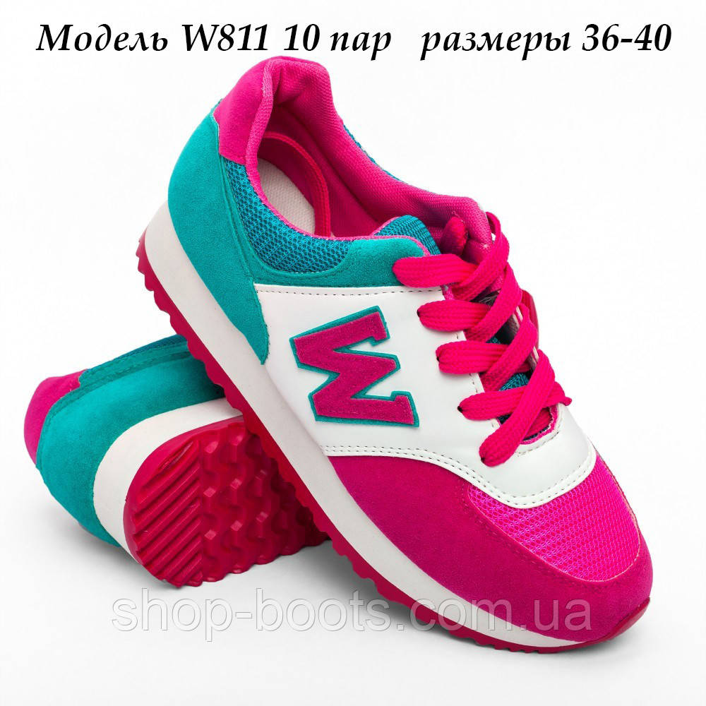 Женские и подростковые кроссовки оптом Гипанис.  36-40рр. Модель W 811