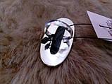 Моховый агат кольцо с натуральным агатом в серебре 17.5-18 размер, фото 7