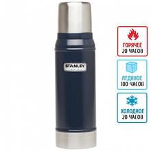 Термос металлический питьевой Stanley Legendary Classic (0.75л), темно-синий