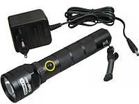 Светодиодный аккумуляторный фонарик Stanley в алюминиевом корпусе