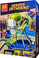 """Конструктор Lele 79034 (реплика Lego Super Heroes 76040) """"Атака Брейниака"""", 179 дет, фото 1"""