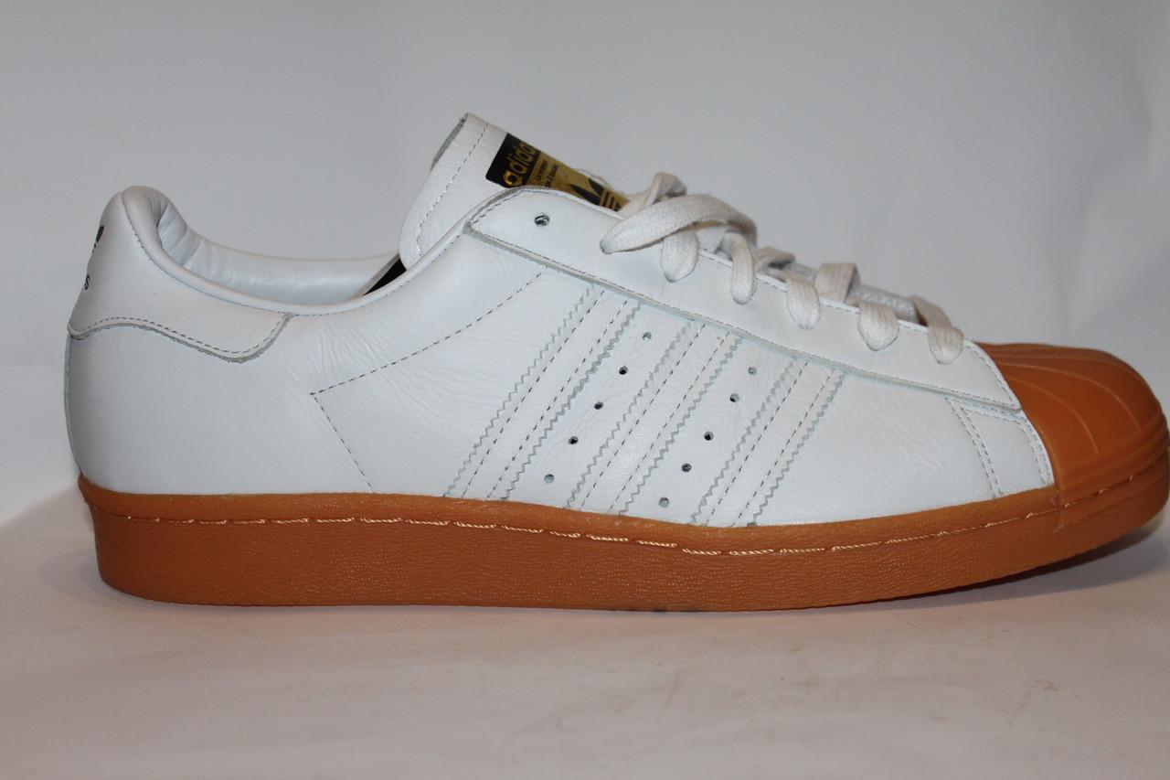 info for 31864 94a1d Кроссовки Men's Adidas Superstar 80s DLX Shoes Deluxe White Gum S75830