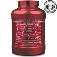 Протеин говяжий Scitec Nutrition 100% Beef Concentrate 2000 gr.