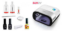 Стартовый набор гель лаков Kodi с лампой SUNUV SUN3 Smart 2.0