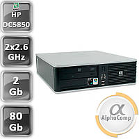 Компьютер HP dc5850 Athlon64 X2 5000+ (2×2.60GHz)/2Gb/80Gb (desktop) б/у