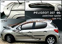 Спойлер на крышу Stylla для Peugeot 207 2006-2012