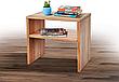 Кровать деревянная односпальная SPACE 90х200 (Спейс) Микс мебель, цвет  бук натуральный масло-воск, фото 4