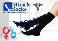 Компрессионные носки Miracle Socks для мужчин и женщин