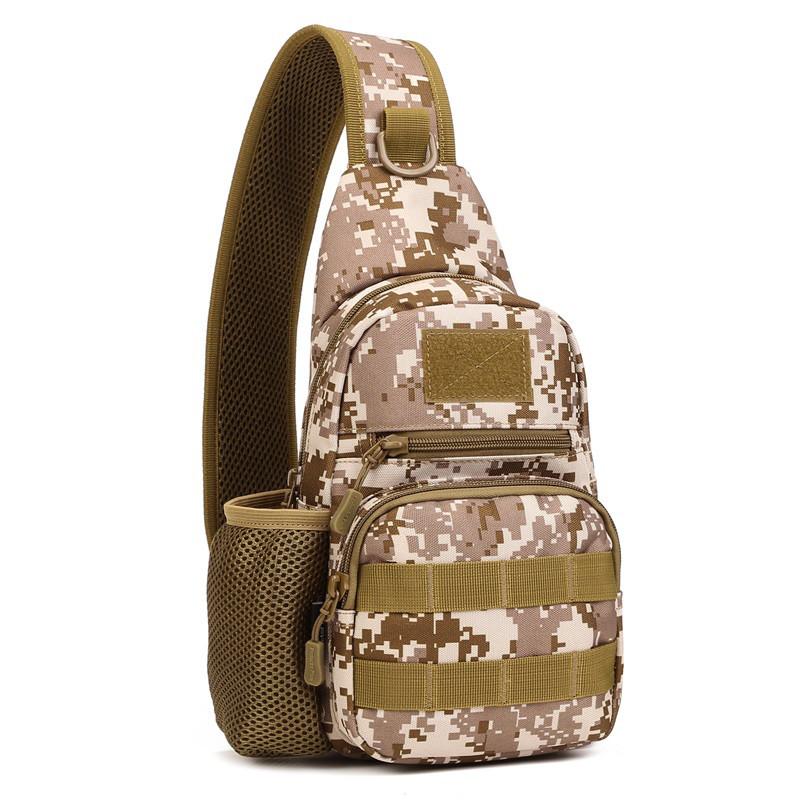 Тактическая военная сумка рюкзак EDC однолямочный Protector Plus X216 Pixel