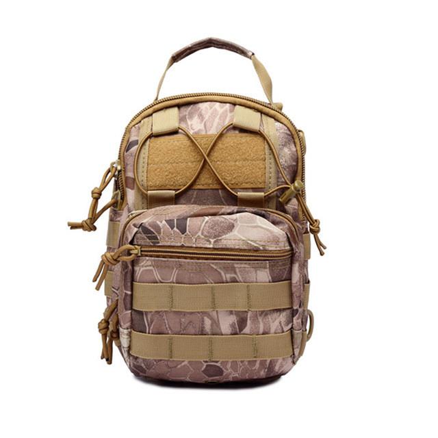 Тактическая военная сумка рюкзак OXFORD 600D Wasteland Python