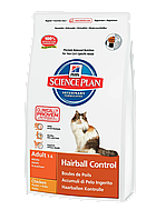 Hills (Хилс) Science Plan Feline Hairball Control Formula Adult (5 кг) корм для кошек