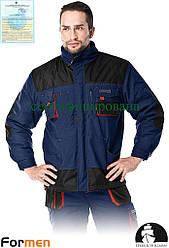 Куртка робоча утеплена FORMEN синя Lebber&Hollman Польща (зимовий спецодяг) LH-FMNW-J GBC