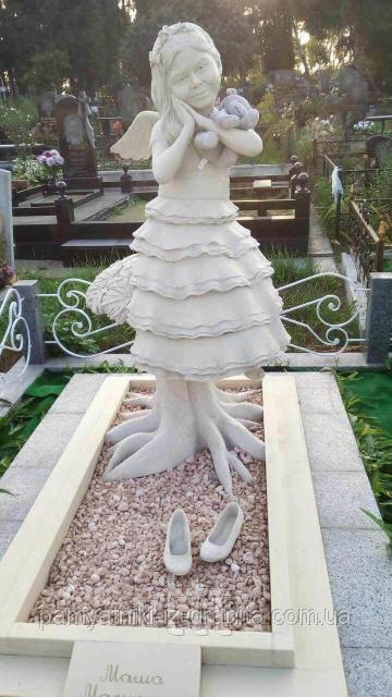 Детский памятник в виде Скульптуры Девочки №1