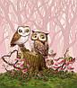 Картина по номерам Влюблённые совы (BK-GX21684) 40 х 50 см [Без коробки]