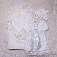 Крестильный набор для девочки Любовь+Даниила, айвори