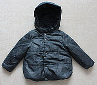Куртка детская для мальчиков на флисе и синтепоне, фото 1