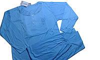 Пижама женская, трикотажная, размеры М-3XL .. арт. 640, фото 1