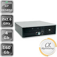 Компьютер HP dc5850 Athlon64 X2 5000B (2×2.60GHz)/4Gb/160Gb (desktop) б/у