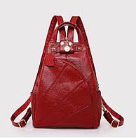 Рюкзак женский Elegant красный.