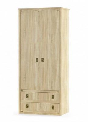 Шкаф 2Д2Ш Валенсия Мебель-сервис