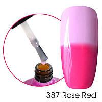 Финишное покрытие термо  Canni 387 розовый 7,3ml