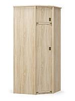 Шкаф углогвой 930/930 дуб самоа Валенсия Мебель-сервис