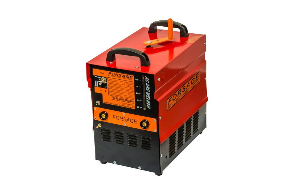 Установка для аргоннодуговой сварки Forsage АС-200A-220/380V