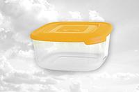 Контейнер квадратный для пищевых продуктов 4000мл Консенсус