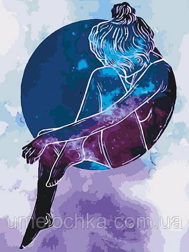 Картина-раскраска Созвездие девы (KHO2668) 30 х 40 см [Без коробки]