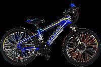 Горный велосипед Titan Porsche 24″(Blue-Yellow-Gray), фото 1