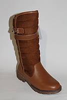 Зимняя обувь оптом. Сапожки кожаные (33-38)