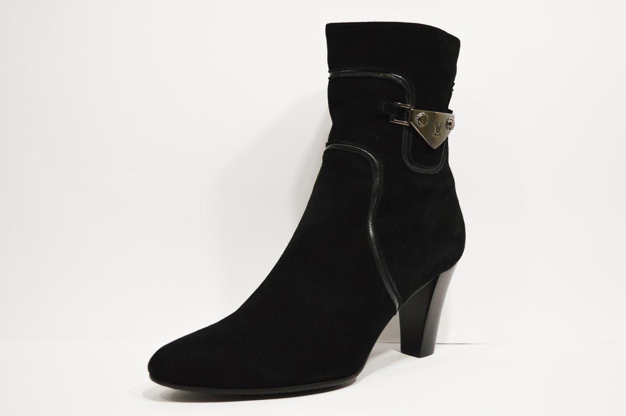 Замшевые демисезонные ботинки Didadem