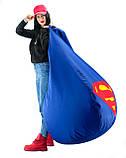 Кресло-груша «Супер Мэн» из ткани Оксфорд, фото 5