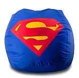 Кресло-груша «Супер Мэн» из ткани Оксфорд, фото 6