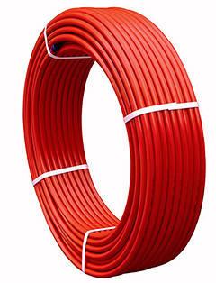 Труба д/теплого пола ф16 * 2.0 PERT-EVOH красная (кислородный барьер), фото 2