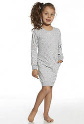 Хлопковая сорочка для девочки. Польша. Cornette 943/73 White bear