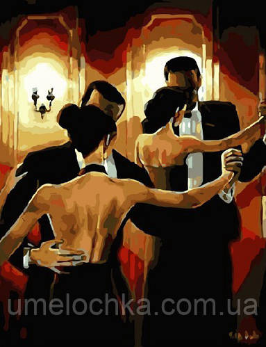 Картина-раскраска Вечер танго (BRM3773) 40 х 50 см