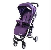 Коляска прогулочная CARRELLO Gloria CRL-8506 Ultra Violet ткань лен ***