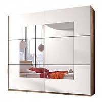 Шкаф с зеркалом двухдверный Бета HELVETIA