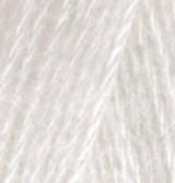 Нитки Alize Angora Real 40 599 Слоновая кость