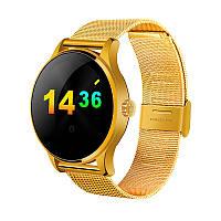 Розумні годинник Lemfo K88H з пульсометром (Золотий)