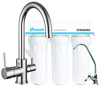Комплект: DAICY-U смеситель для кухни, Ecosoft Standart система очистки воды (3х ступенчатая)