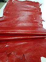 Кожа КРС Алькор красный 1 сорт 1,5-1,7 мм