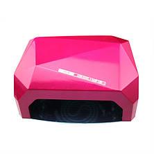 Гель-лампа Diamond 36 Вт (гибридная CCFL+LED)!Акция, фото 3