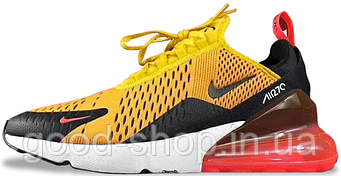 """Мужские кроссовки Nike Air Max 270 """"Orange""""  (люкс копия)"""