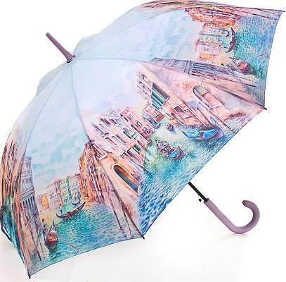 Полуавтоматический женский зонт-трость ZEST (ЗЕСТ) Z21625-1