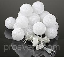Тайские фонарики 20 шарик (20 Белых)
