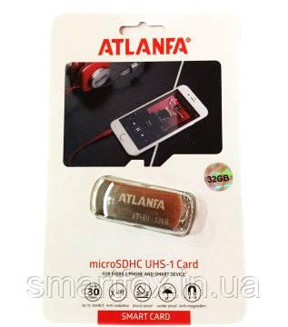 Флеш память USB Atlanfa AT-U1 4GB с цепочкой Flash Drive, фото 2