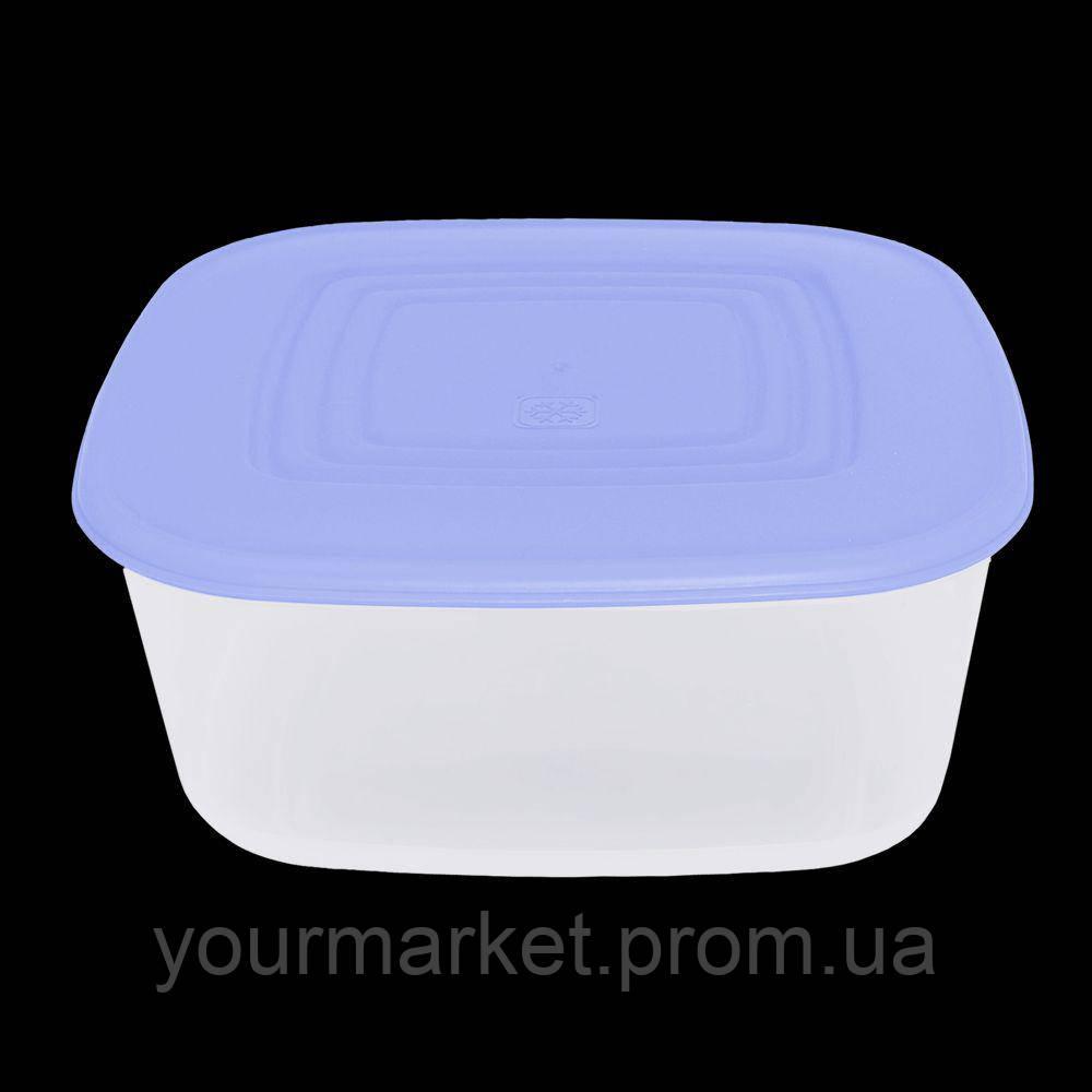 Контейнер квадратный для пищевых продуктов Украина 0,93 л 00981У