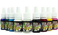 Набор красок основных цветов  JVR Colors (8шт*10мл)